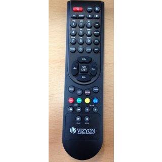 Fernbedienung für Vizyon 100 FTA 1000 HD CA 1080 10000 HDTV