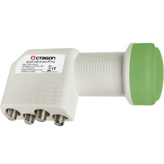 Octagon Quad Green PLL HQ OQSLG LNB 0.1dB