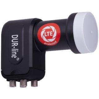 DUR-line +Ultra Quattro LNB für Multischalter-Betrieb schwarz