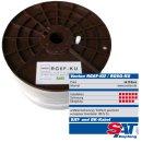 Koax Sat Kabel Venton RG6F-KU 140dB Kupfer 5-Fach HQ 100m...