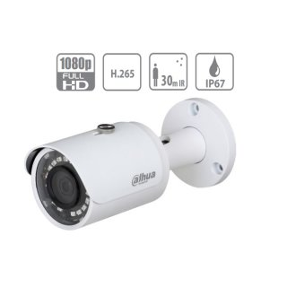 Dahua Überwachungskamera - IPC-HFW1230SP-0360B - IP - Bullet