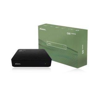 Xsarius Q8 Voice - 4K UHD OTT Media Streamer,Premium TV, WLAN, Bluetooth, Android 8.0 Oreo