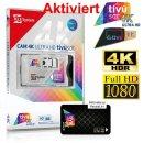 Aktiviert!!!!!TivuSat Telesystem CI+ Smarcam 4K ULTRA HD...