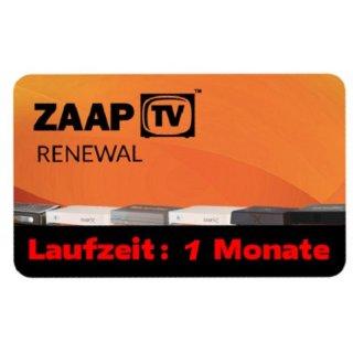 ZaapTV HD409N, HD509N, HD509NII, CLOODTV, X, HD609N - Arabisches Senderpaket - 1 Monate Verlängerung