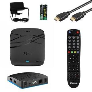 Xsarius Q2 OTT 4K UHD IPTV Android 7.1 Player H.265 HEVC MyTV Wlan