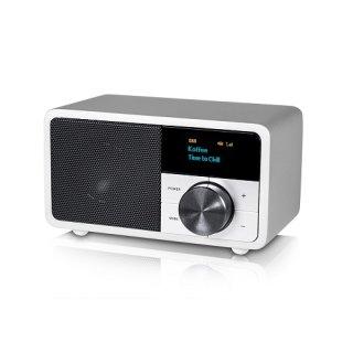 Kathrein DAB+ 1 mini silber lackiert DAB+/FM Radio silber lackiert mit Bluetooth