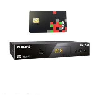 Philips DSR3231T HDTV Sat Receiver mit TNTSAT Karte