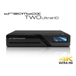 Dreambox Two 4K UHD BT H.265 E2 Linux Dual Wifi 2xDVB-S2X MIS Sat Receiver