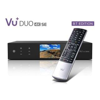 VU+ Duo 4K SE BT 1x DVB-S2X FBC / 1x DVB-C FBC PVR Linux Receiver UHD 2160p
