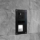 """BALTER ERA Schwarz RFID 2-Draht BUS IP 7"""" WiFi Video Türstation iOS Android App für 2 Teilnehmer"""