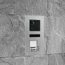 "BALTER ERA Silber RFID 2-Draht BUS IP 7"" WiFi Video Türstation iOS Android App für 2 Teilnehmer"