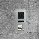 "BALTER ERA Silber RFID 2-Draht BUS IP 7"" WiFi Video Türstation iOS Android App für 3 Teilnehmer"