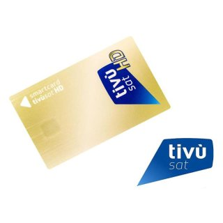 Aktiviert !!!!!!Tivusat Tivù Sat Karte Mediaset Smartcard