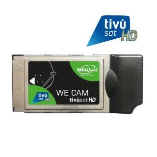 Digiquest Tivusat WE Cam Wifi / WLAN CI+ Modul HD ohne Smartcard