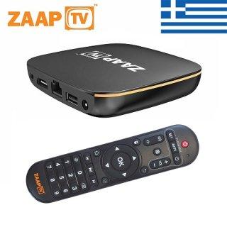 ZaapTV HD809N - 2 Jahre ZaapTV Greek / Griechisches Fernsehen