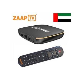ZaapTV HD809N - 2 Jahre ZaapTV Arabic / Arabisches Fernsehen