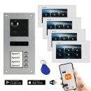 "BALTER ERA Silber RFID 2-Draht BUS IP 7"" WiFi Video..."