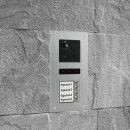 "BALTER ERA Silber RFID 2-Draht BUS IP 7"" WiFi Video Türstation iOS Android App für 4 Teilnehmer"