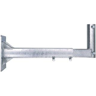 DUR-line WHSAZ 85cm  XL Wandhalter Stahl Feuerverzinkt Wandabstand ø 50mm