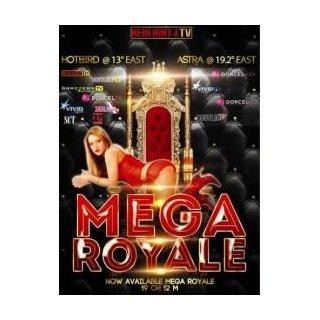 Redlight Mega Elite Royale HD 13 Sender Astra/Hotbird Viaccess Card 12 Monate