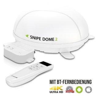 Selfsat SNIPE Dome 2 BT - Twin - Mit BT Fernbedienung und iOS / Android Steuerung