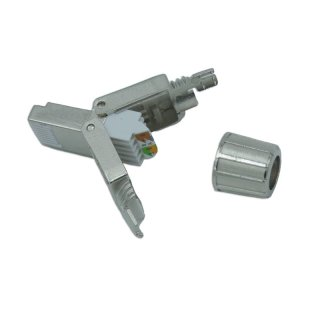 Netzwerk Stecker Tool-less RJ45 CAT6A CAT 7 Kabel Stecker ohne Werkzeug