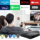 VU+ Plus YAY GO PRO IP-Receiver (4K UHD, Android 10, Dual-WiFi, Chromecast, IP-Player, HIGH-END)