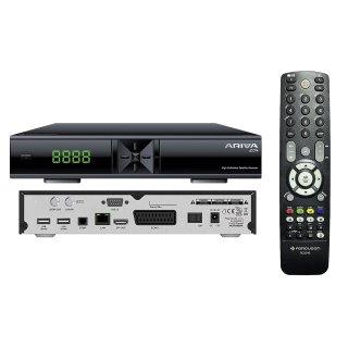 Ferguson Ariva 204 Full HD H.265 USB LAN PVR Sat Receiver