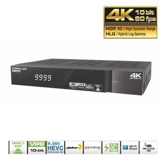 Formuler S Turbo 4K Ultra HD Satellite- IPTV Receiver