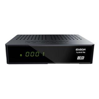 Edision Progressiv Hybrid Lite LED FullHD DVB-C/T Receiver Display