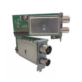 Kabel & Terrestrisch Tuner für Mut@nt HD51 & AX 4K-Box HD51 DVB-C/T2 Plug&Play Tuner