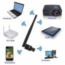 MK Digital V8 USB WiFi WLAN Adapter 150 Mbit/s mit 3dBi Antenne