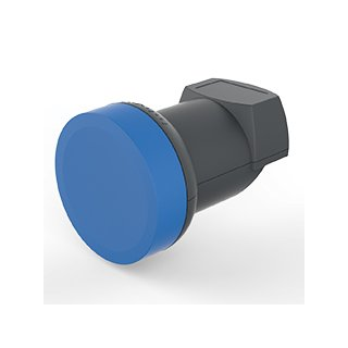 Opticum Blue V2 Single Premium LNB 0,1 dB Vergoldet HD HDTV 3D UHD