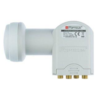 Quattro LNB Opticum RED Robust 0,1 dB Full HD HDTV