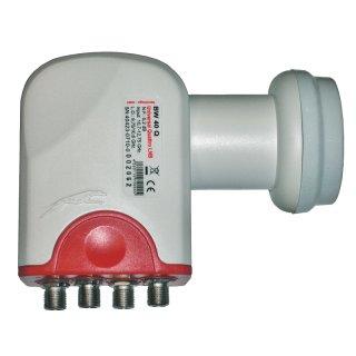 Universal Quattro LNB Bauckhage BW 40 Q 0,1 dB 40mm