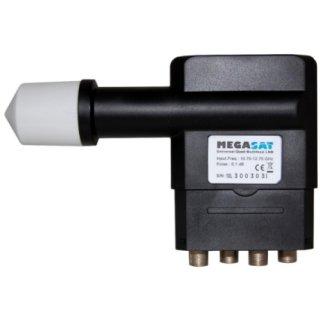 Megasat Multifeed Quad LNB Slim Digital Full HD HDTV 3D