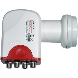 Universal Quad LNB Bauckhage BW 40 QS 0,1 dB 40mm switchcable