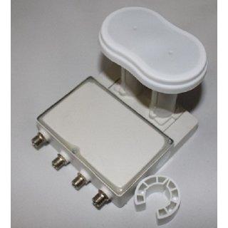 Monoblock Quad LNB GT-Sat 3° GT-QDMO3 für Astra 19° & Eutelsat 16°