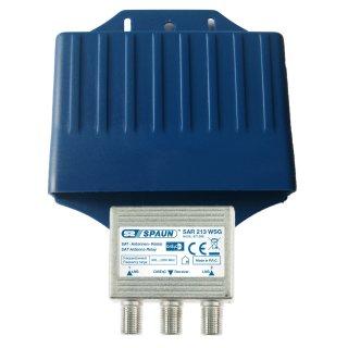 Spaun DiseqC Schalter SAR 213 2/1 WSG Wetterschutz 2.0 1.0
