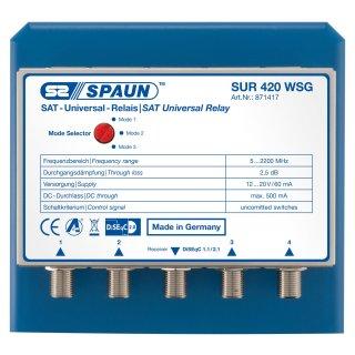 Spaun SUR 420 WSG Optionsrelais 4/1 mit Wetterschutz