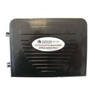 Vizyon DiseqC Schalter 10/1 WSG GD-10A 10 in 1 Level 1.1