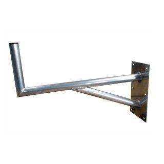 Wandhalter mit Stütze Alu 80 cm Wandabstand extra stark 1A