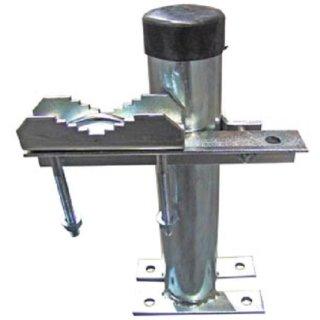 Masthalter Rohr Abstandhalter 20 cm für Dachmontage