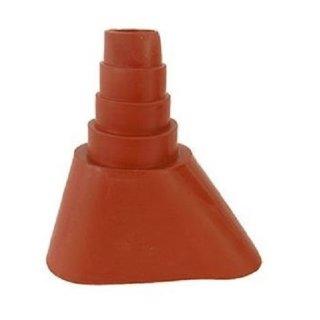 Universal Mastmanschette Dachabdeckungen Gummitülle 35-60mm Rot