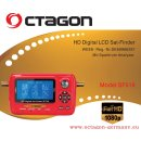 OCTAGON SAT-FINDER Messgerät SF518 LCD HD & UHD...