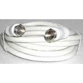 Koax Anschluss Kabel mit F-Stecker 7 m für Sat