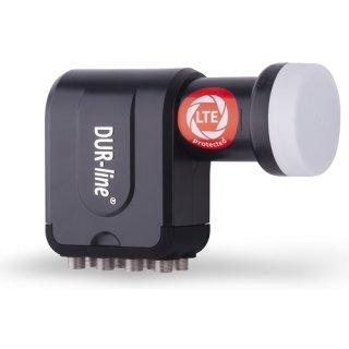DUR-line +Ultra Octo LNB für bis zu 8 Teilnehmer schwarz