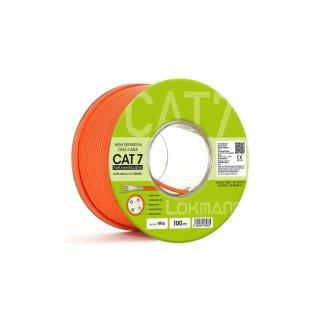 Netzwerkkabel LAN DSL 100 m CAT7 Netzwerk Kabel