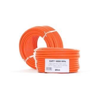 Netzwerkkabel LAN DSL 25 m CAT7a Netzwerk Kabel