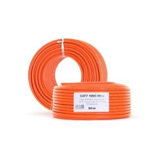 Netzwerkkabel LAN DSL 50 m CAT7a Netzwerk Kabel
